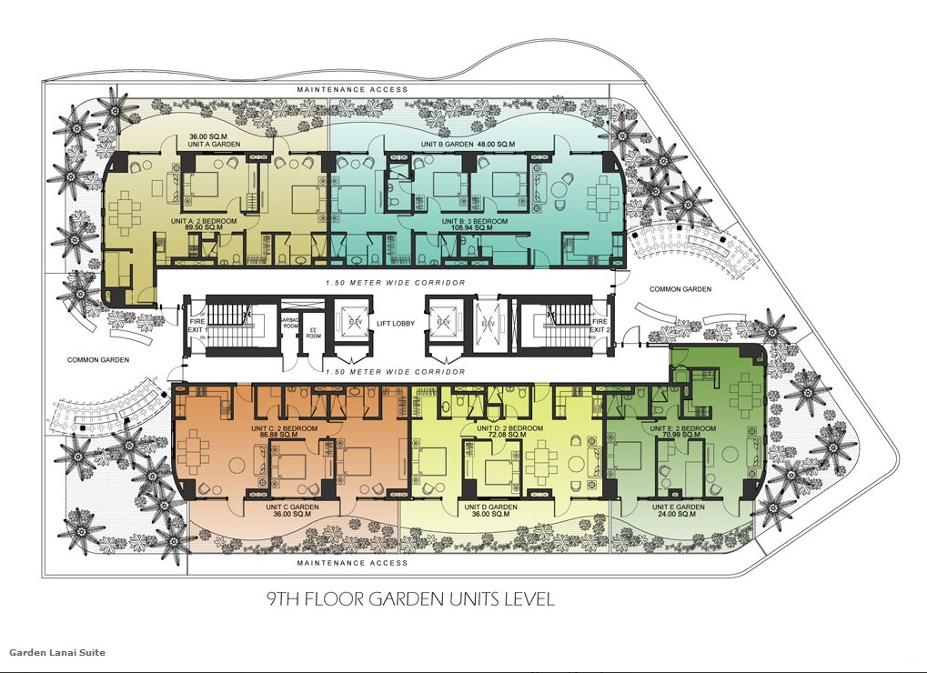 Calyx residences for 4 unit condo plans